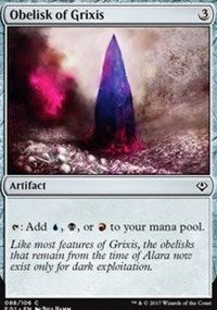 Obelisk of Grixis [Archenemy: Nicol Bolas] | Game Haven