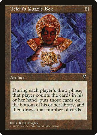 Teferi's Puzzle Box [Visions] | Game Haven
