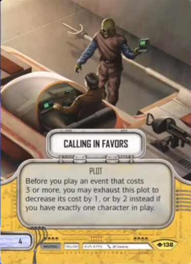 Calling in Favors | Game Haven