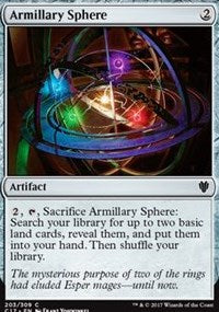 Armillary Sphere [Commander 2017] | The Game Haven