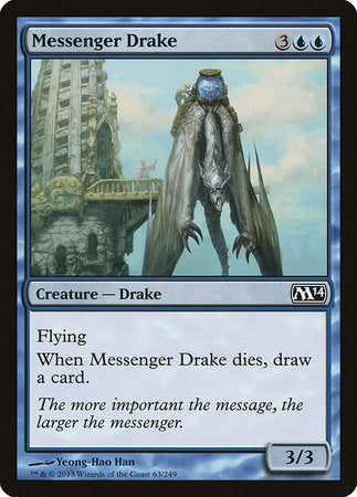 Messenger Drake [Magic 2014] | Game Haven