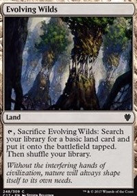 Evolving Wilds [Commander 2017] | Game Haven
