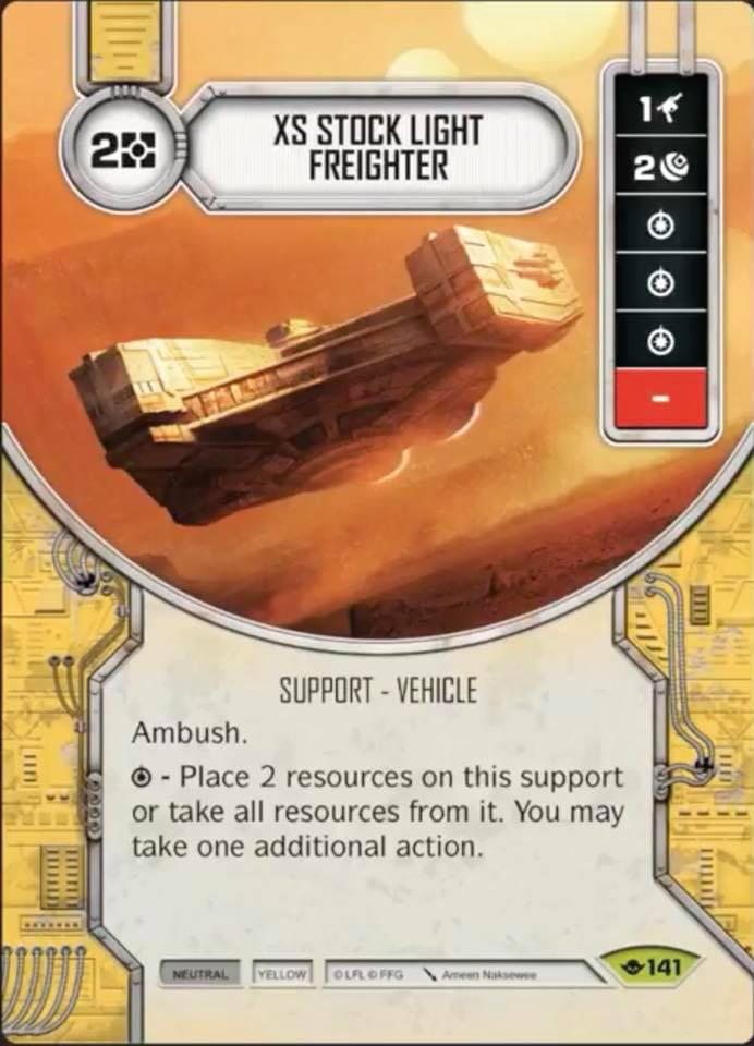 XS Stock Light Freighter | Game Haven