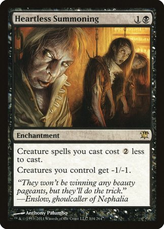 Heartless Summoning [Innistrad] | Game Haven