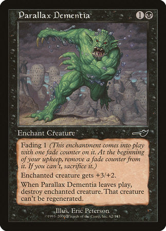 Parallax Dementia [Nemesis] | Game Haven