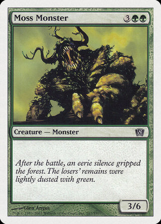 Moss Monster [Eighth Edition] | Game Haven