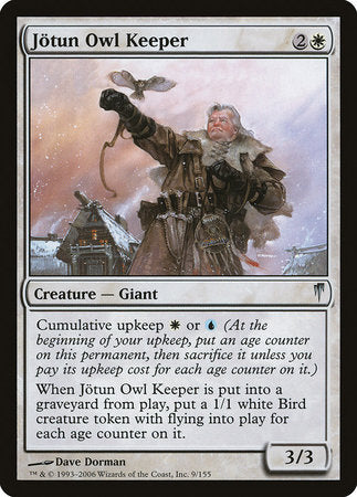 Jotun Owl Keeper [Coldsnap] | Game Haven