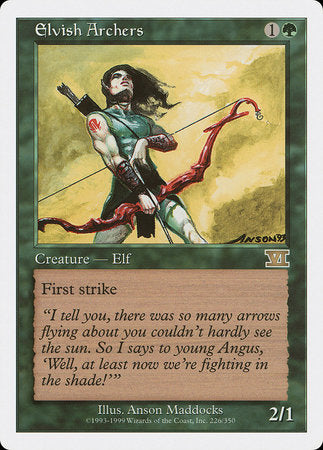 Elvish Archers [Classic Sixth Edition] | Game Haven