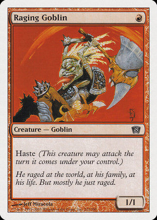 Raging Goblin [Eighth Edition] | Game Haven