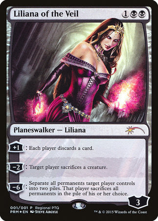 Liliana of the Veil [Pro Tour Promos] | Game Haven