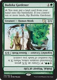 Budoka Gardener // Dokai, Weaver of Life [Commander 2018] | The Game Haven