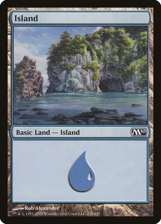 Island (234) [Magic 2010] | Game Haven