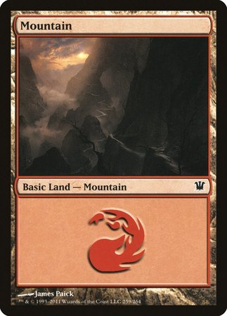 Mountain (259) [Innistrad] | Game Haven