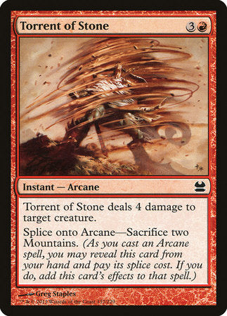 Torrent of Stone [Modern Masters] | Game Haven