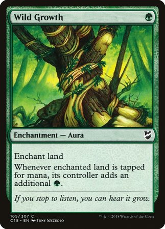 Wild Growth [Commander 2018] | Game Haven