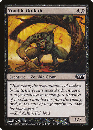 Zombie Goliath [Magic 2012] | Game Haven
