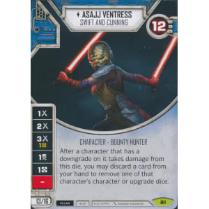 Asajj Ventress - Swift and Cunning | Game Haven