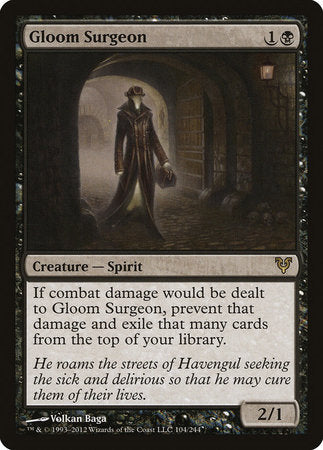 Gloom Surgeon [Avacyn Restored] | Game Haven