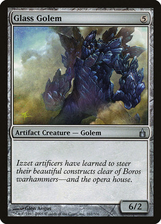 Glass Golem [Ravnica: City of Guilds] | Game Haven