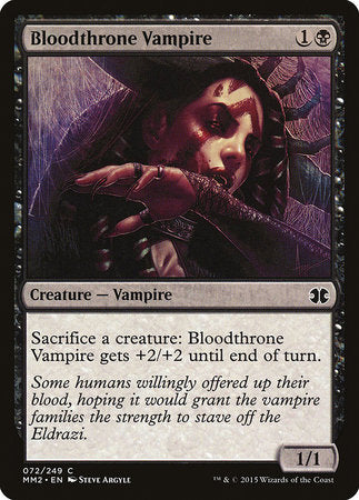 Bloodthrone Vampire [Modern Masters 2015] | Game Haven