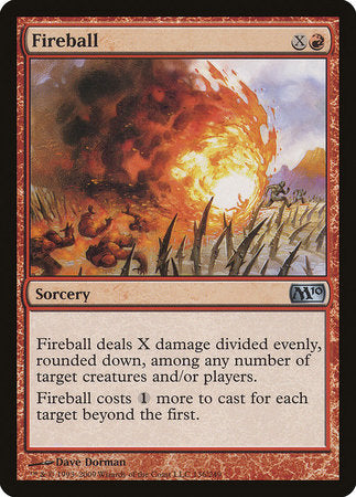 Fireball [Magic 2010] | Game Haven