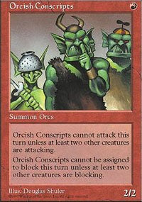 Orcish Conscripts [Fifth Edition] | Game Haven