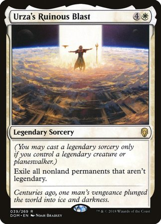 Urza's Ruinous Blast [Dominaria] | The Game Haven