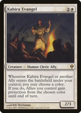 Kabira Evangel [Zendikar] | Game Haven
