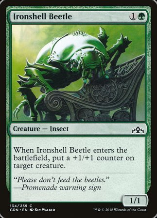 Ironshell Beetle [Guilds of Ravnica] | The Game Haven