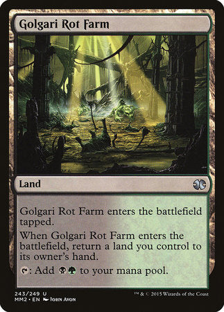 Golgari Rot Farm [Modern Masters 2015] | The Game Haven