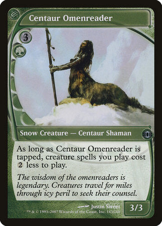 Centaur Omenreader [Future Sight] | The Game Haven