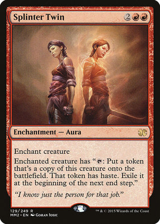 Splinter Twin [Modern Masters 2015] | The Game Haven