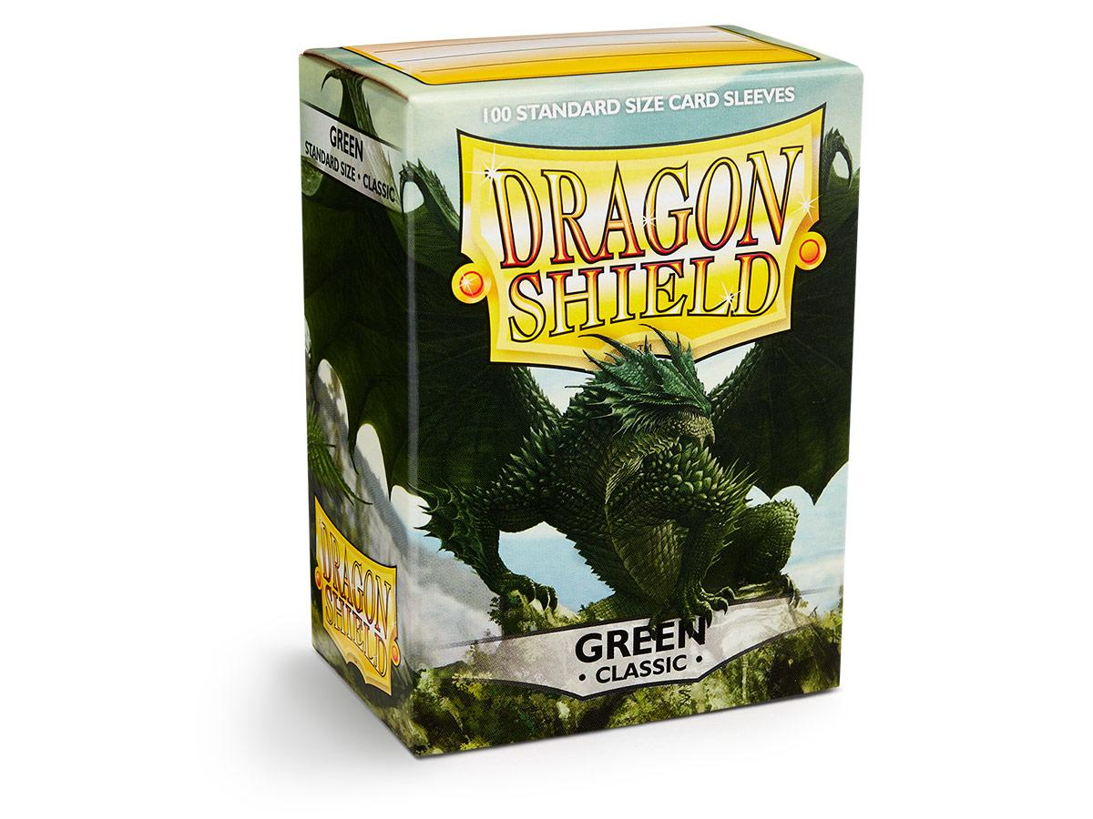 Dragon Shield: Classic Sleeves Green | Game Haven