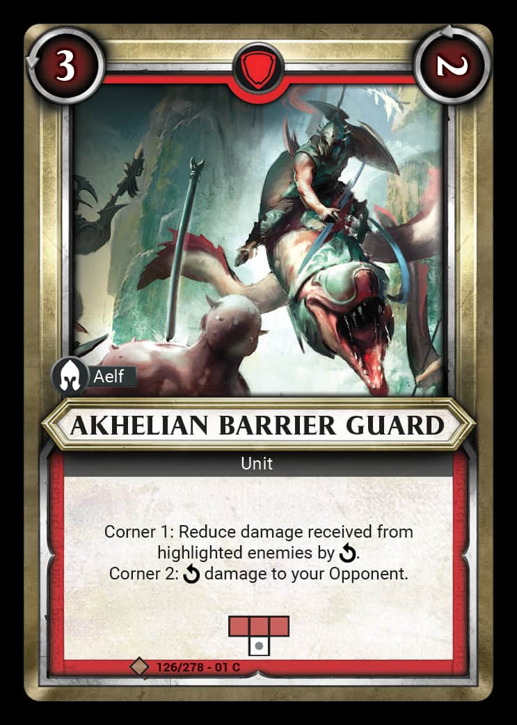 Akhelian Barrier Guard | Game Haven