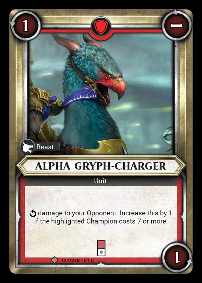 Alpha Gryph-Charger