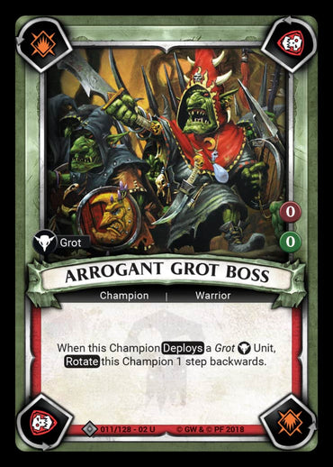 Arrogant Grot Boss