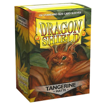 Dragon Shield: Matte Sleeves Tangerine | Game Haven