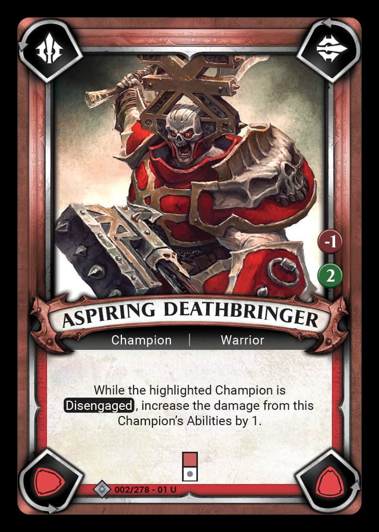 Aspiring Deathbringer | Game Haven