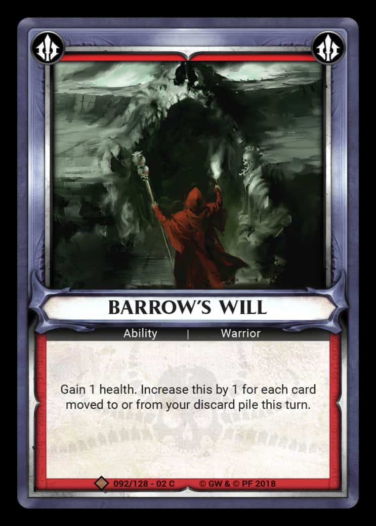 Barrow's Will | The Game Haven