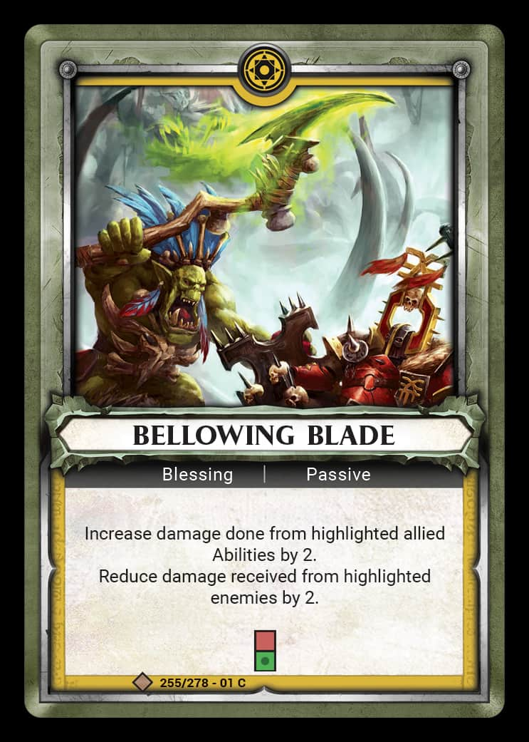 Bellowing Blade | Game Haven