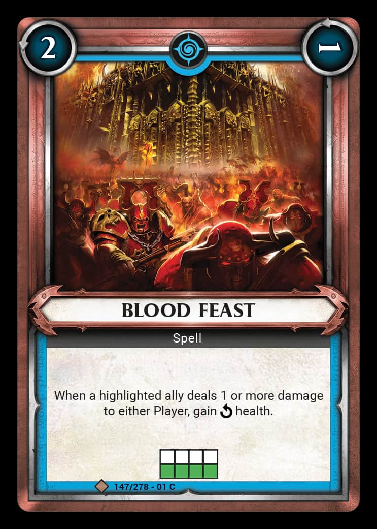 Blood Feast | Game Haven
