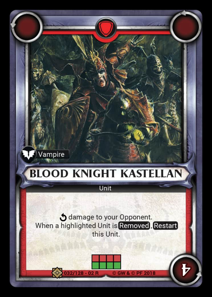 Blood Knight Kastellan | Game Haven