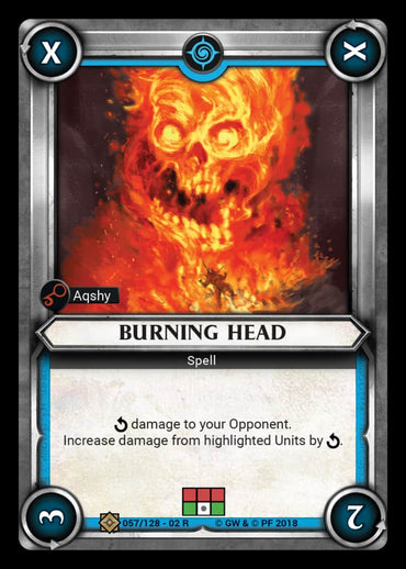 Burning Head
