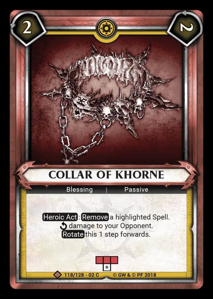 Collar of Khorne | Game Haven