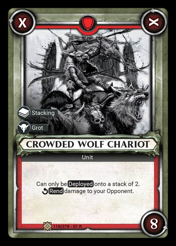 Crowded Wolf Chariot