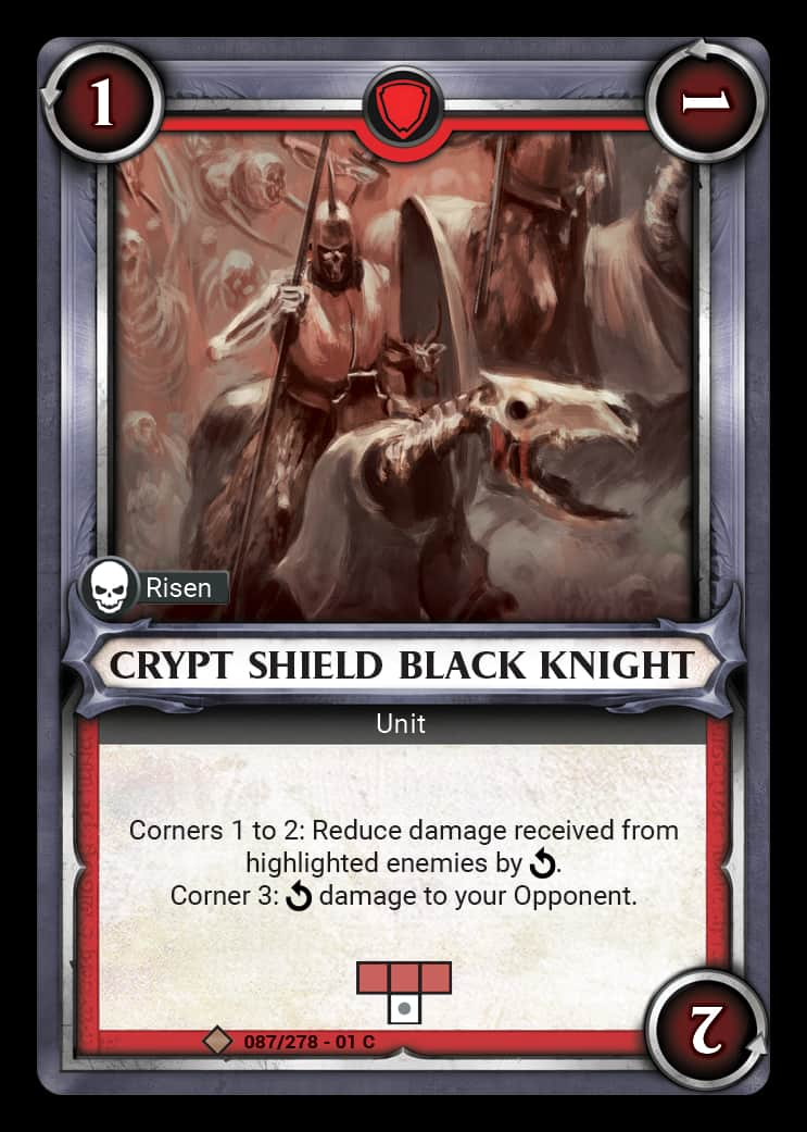 Crypt Shield Black Knight | Game Haven