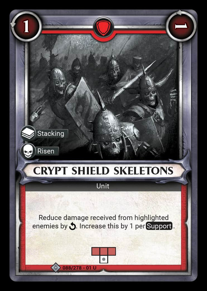 Crypt Shield Skeletons