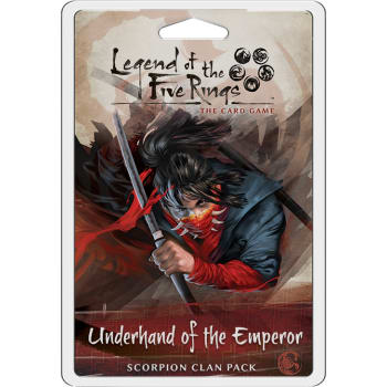 Legend of the Five Rings: Underhand of the Emperor - Scorpion Clan Pack | The Game Haven