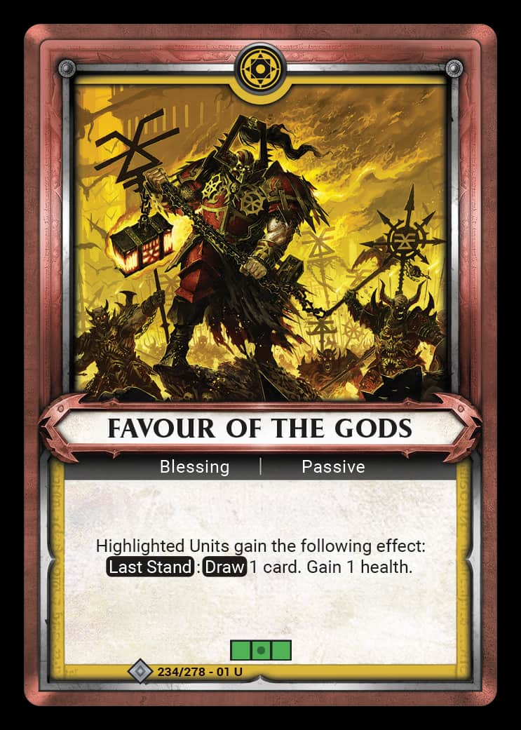 Favour of the Gods | Game Haven