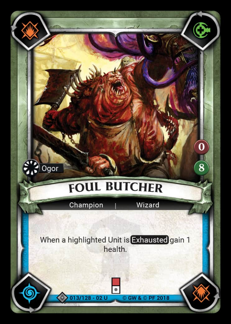 Foul Butcher | Game Haven